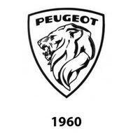 logo peugeot 1960