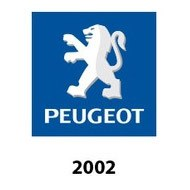 logo peugeot 2002