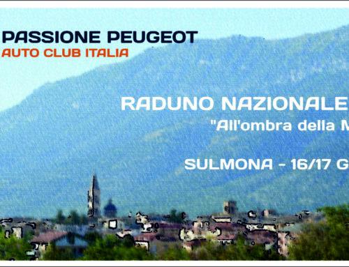 Raduno Nazionale 2018 – Sulmona 16-17/06