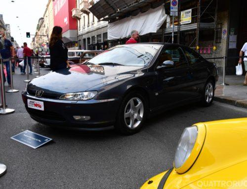La 406 coupè di Passione Peugeot conquista il 3° posto al Concorso di Quattroruote