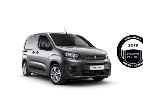 NUOVO PEUGEOT PARTNER ELETTO INTERNATIONAL VAN OF THE YEAR 2019