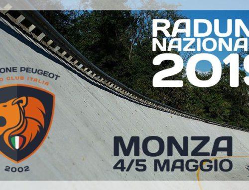 Raduno Nazionale 2019 – Monza 4/5 maggio
