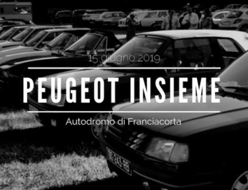 PEUGEOT INSIEME 2019 – Autodromo di Franciacorta – 15 giugno