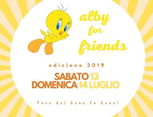 Alby for Friends 2019 – Treviso/Diga del Vajont – 13/14 luglio