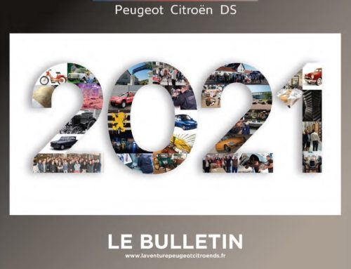 Il Club ad Auto e Moto d'Epoca 2020 – Bulletin de L'Aventure Peugeot Citroën DS